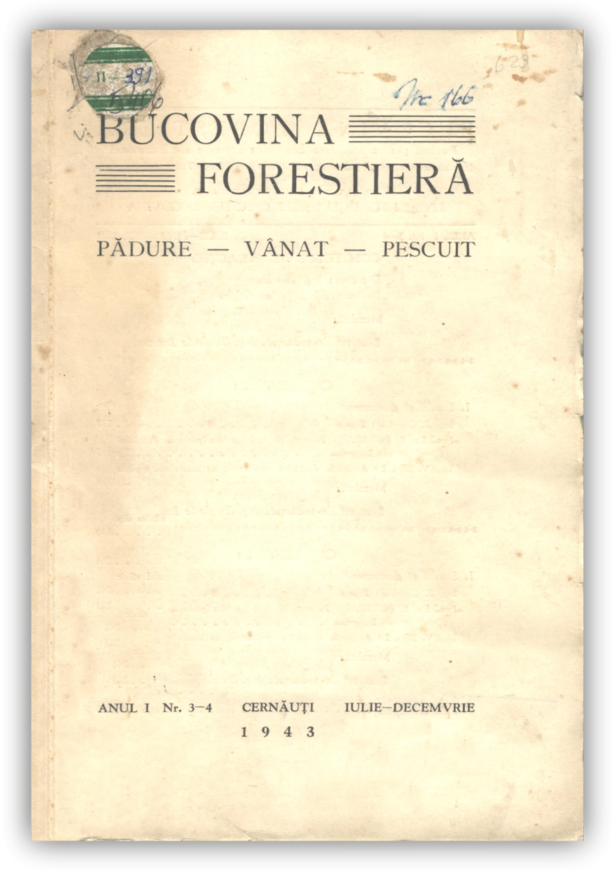 Vizualizare Vol. 1 Nr. 3-4 (1943)