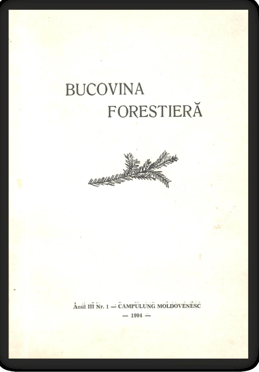 Vizualizare Vol. 3 Nr. 1 (1994)