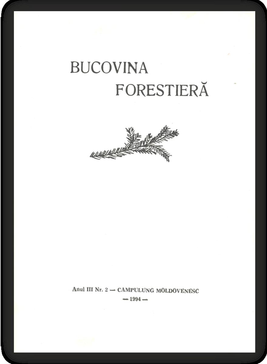 Vizualizare Vol. 3 Nr. 2 (1994)